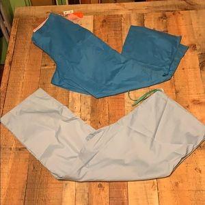 2 NEW XXL BLUE SCRUB PANTS